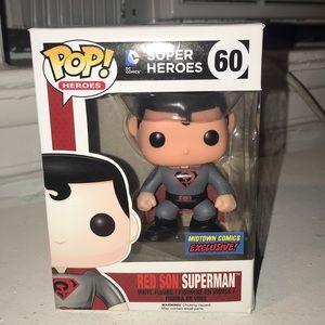 Funko Pop! Red Son Superman Midtown Comics #60